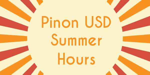 PUSD Summer Hours 2019