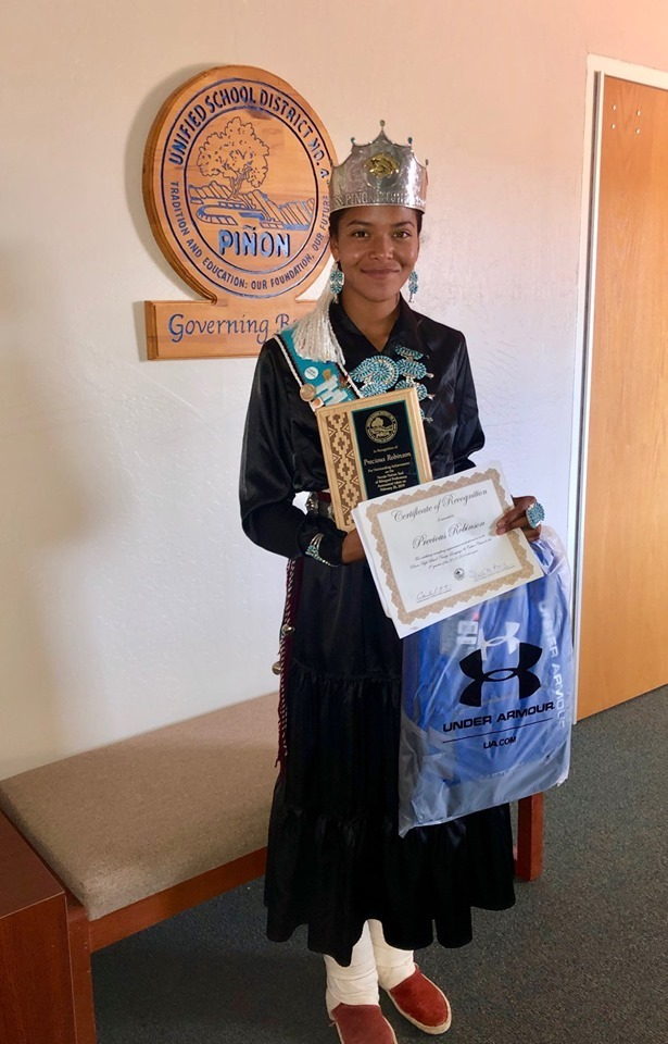 Navajo Nation Seal of Bilingual Proficiency Recipient