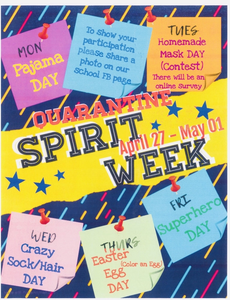 Quarantine Spirit Week