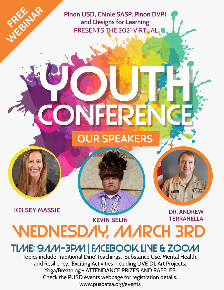 Virtual Youth Conference March 3rd