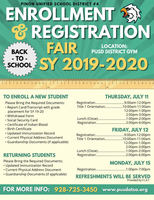 Enrollment Fair SY19-20