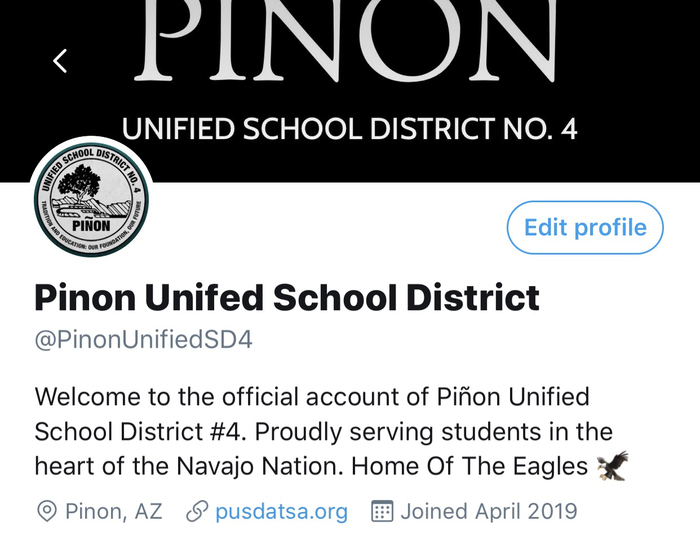 Piñon Twitter account information