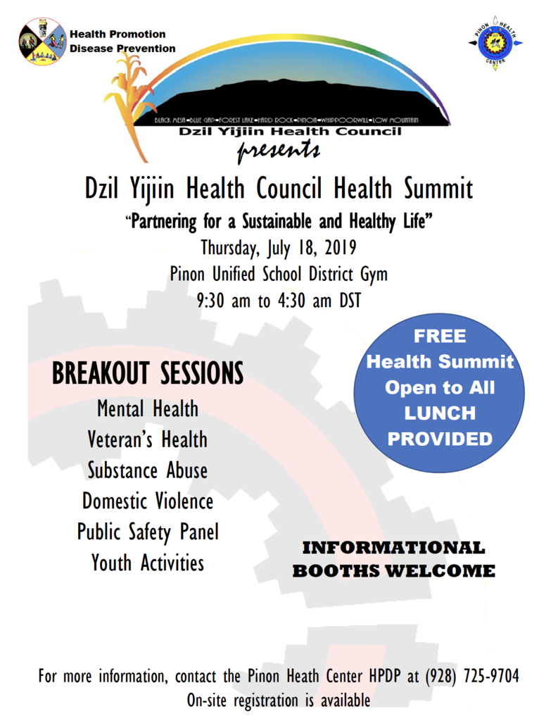 Health Council Flyer