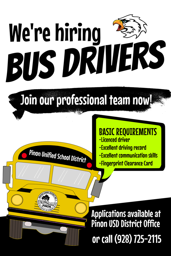 Bus driver recruitment poster