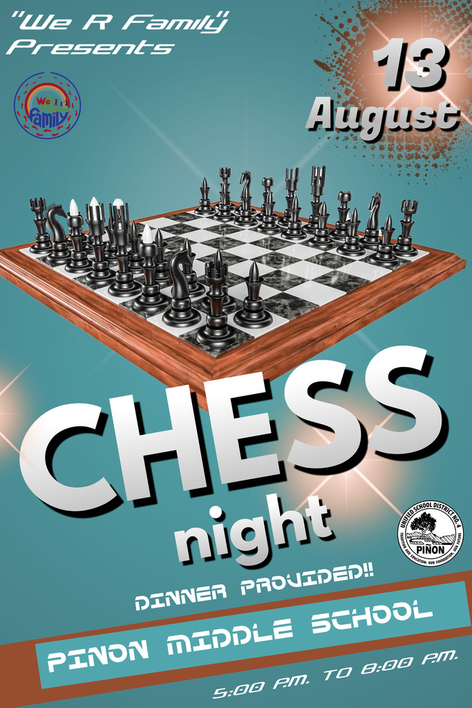 Chess Night Flyer