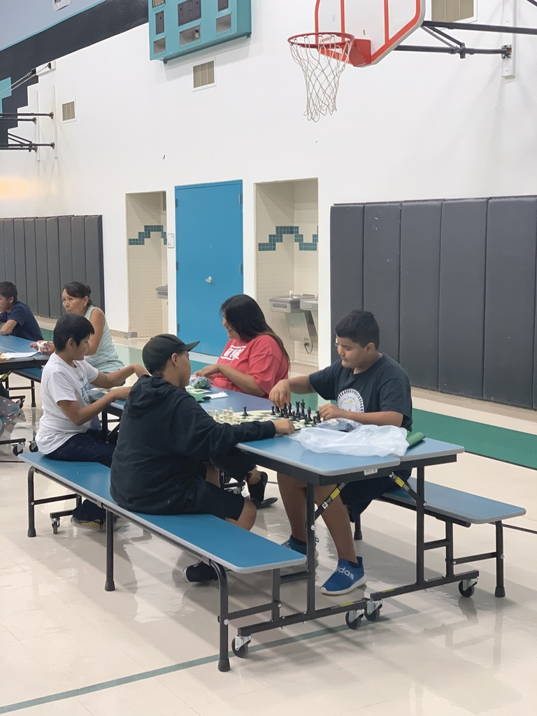 Middle and High School chess session